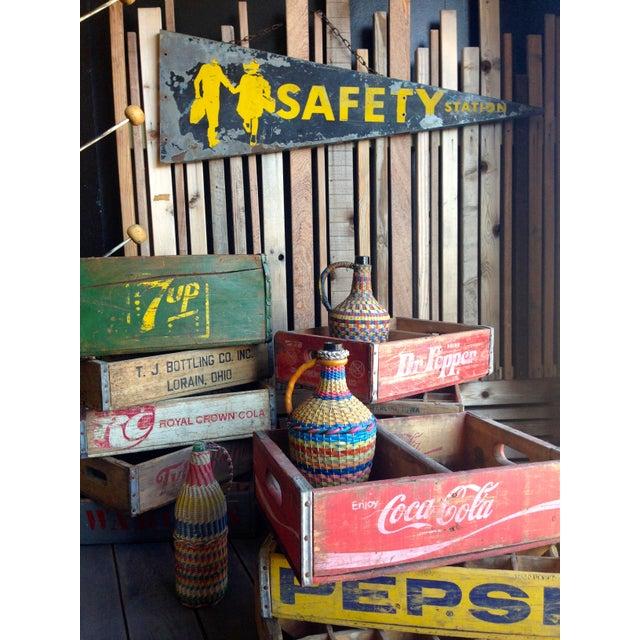 Antique Safety Station Sign - Image 3 of 8