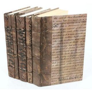 Antique Script Bronze Books - Set of 5 Preview