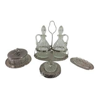 Mori Inox Cruet Set - Set of 18 pieces For Sale