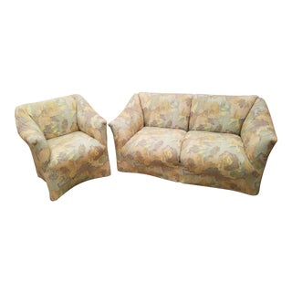 Mario Bellini Tentazione Loveseat & Chair