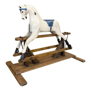 19th Century Child's Rocking Horse For Sale