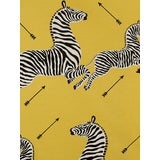 Image of Scalamandre Zebras - Outdoor, Yellow Fabric For Sale