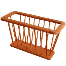 Image of Danish Modern Magazine Racks