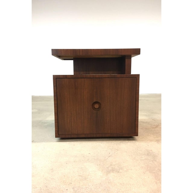 Mid-Century Modern Pair of Andrew Szoeke End Tables in Rosewood For Sale - Image 3 of 9