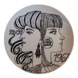 Image of 1967 Fornasetti Plate for Neiman Marcus For Sale