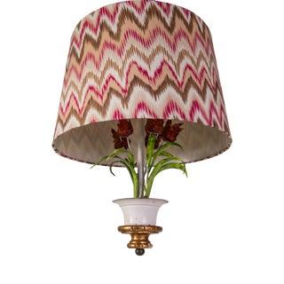 Madcap Cottage Tulip Tole Chandelier For Sale
