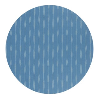 Ikat Placemat in Blue For Sale
