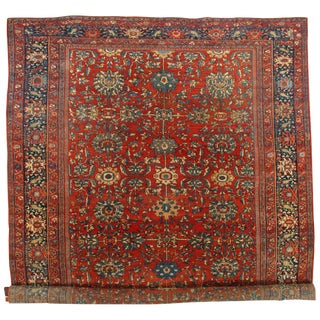 "Traditional Pasargad N Y Persian Antique Sarouk Farahan Rug - 10'3"" X 17'"