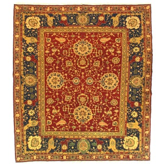 """Traditional Pasargad N Y Sumak Sultanabad Design Hand-Knotted Rug - 7'9"""" X 8'11"""""""