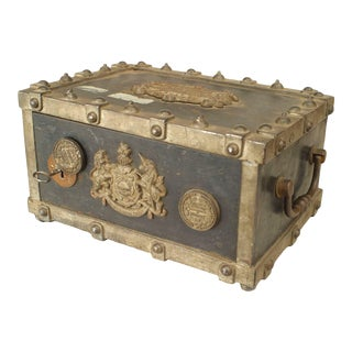 French Victorian Royal Strong Box For Sale