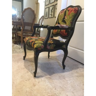 Vintage Bergere Tapestry Chair Preview
