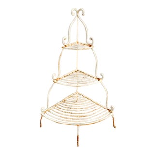 Iron Tiered Plant Stand