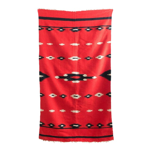 Antique Navajo Style Blanket For Sale