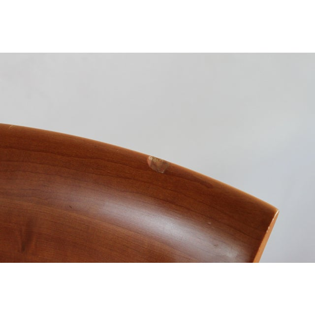 Vintage 1986 Frank Lloyd Wright for Cassina Taliesin 606 Barrel Chairs - Set of 6 For Sale - Image 12 of 13