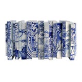 Image of Covet Paris Heritage Blue Sideboard For Sale