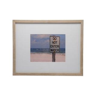 Contemporary Florida Beach Framed Print For Sale