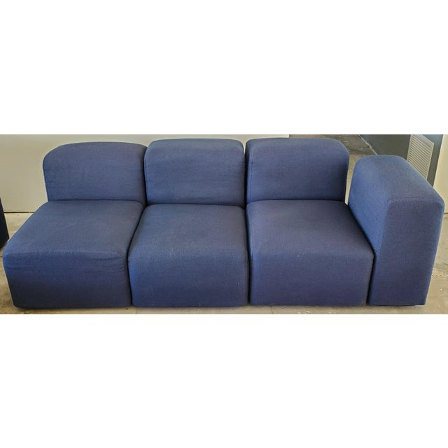 1970s Castelli Large Modular Sectional Sofa For Sale - Image 5 of 12