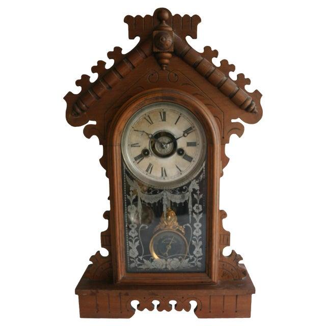 Jacot's Regulator Mantel Clock - Image 1 of 6