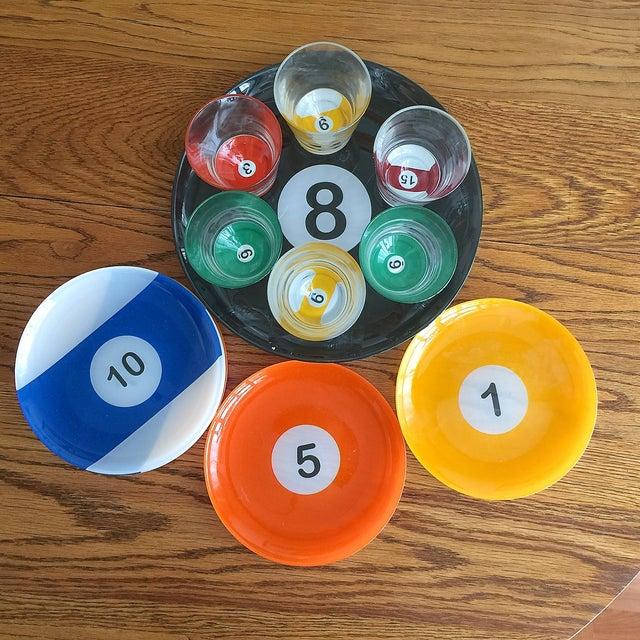 Billiard Ball Snack Set - 15 Piece Set - Image 2 of 3