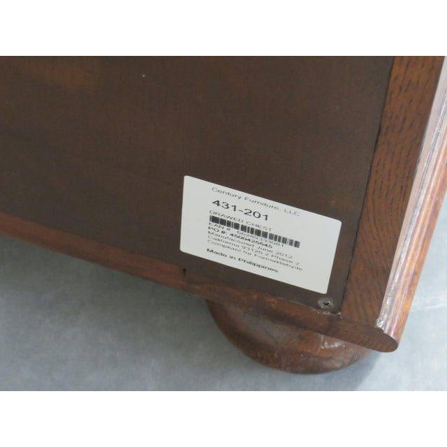 Pair of Century Furniture Commodes For Sale - Image 9 of 11