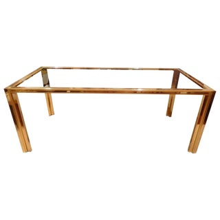 Italian Mid-Century Modern Romeo Rega Dining Table For Sale
