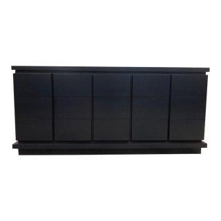 Beau Long Navy Dresser For Sale