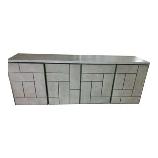 Contemporary Bernhardt Mosaic Media Cabinet For Sale