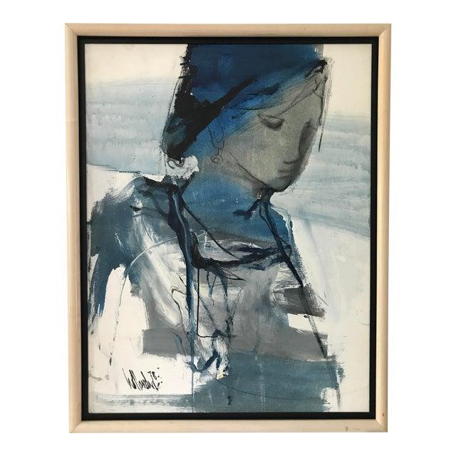 Signed Gino Hollander Original Acrylic Painting - Image 1 of 11
