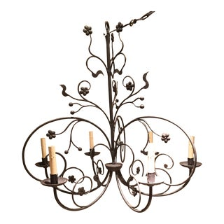 Ironware International Traditional Chandelier For Sale