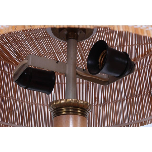 1950s Rare Table Lamp by Paavo Tynell for Taito For Sale - Image 5 of 10