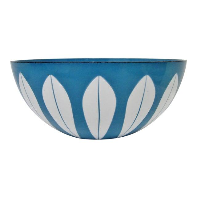 Cathrineholm Enameled Serving Bowl For Sale
