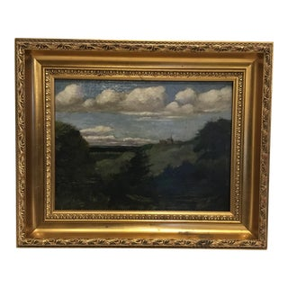 19th Century English Oil on Canvas For Sale