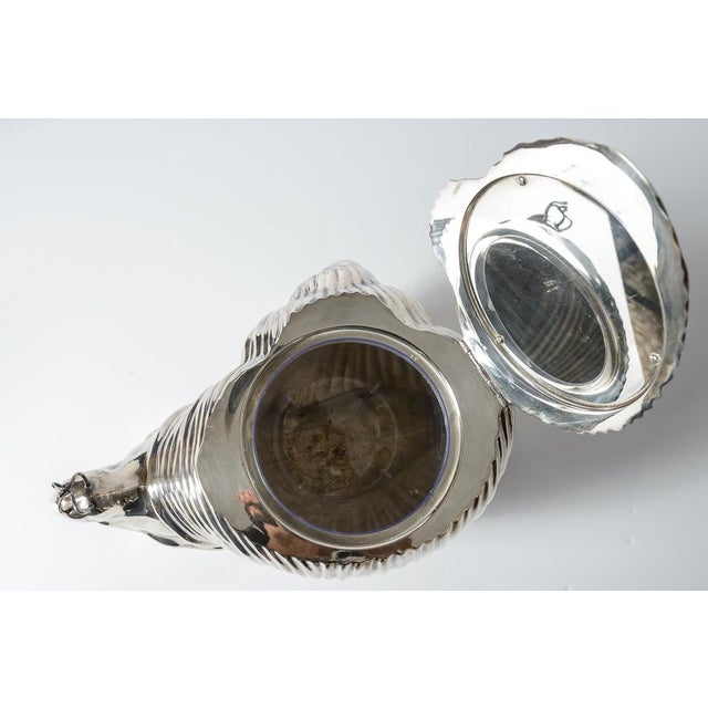 Silver Italian Fabulous Snail Ice Bucket Made by Teghini in Florence C.1970 For Sale - Image 8 of 13