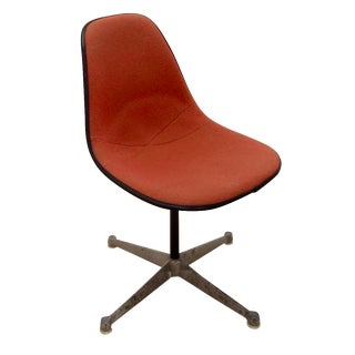 Eames Shell & Aluminum Office Chair For Sale