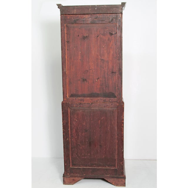 Period George III Secretary Bookcase of Mahogany For Sale In Dallas - Image 6 of 11