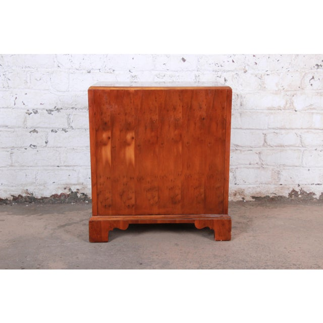 Baker Furniture Chippendale Fruitwood Chest of Drawers or Commode For Sale - Image 11 of 13