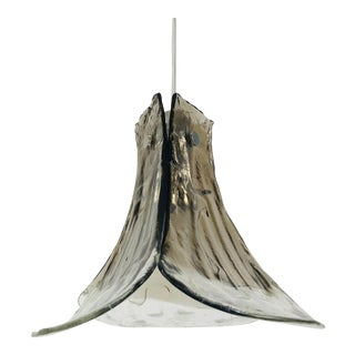 1960s Murano Glass Pendant Lamp by Carlo Nason for Kalmar, Austria For Sale