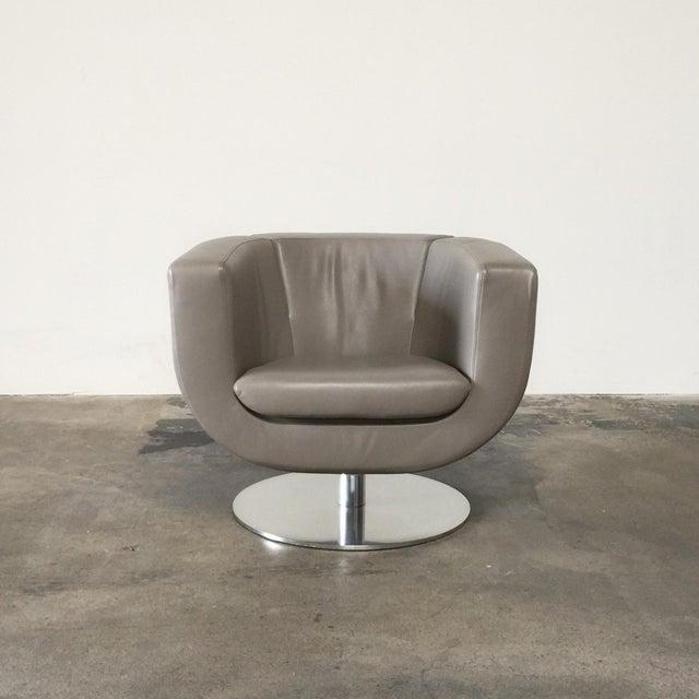 Italian Jeffrey Bernett for B&B Italia Tulip Chair For Sale - Image 3 of 5