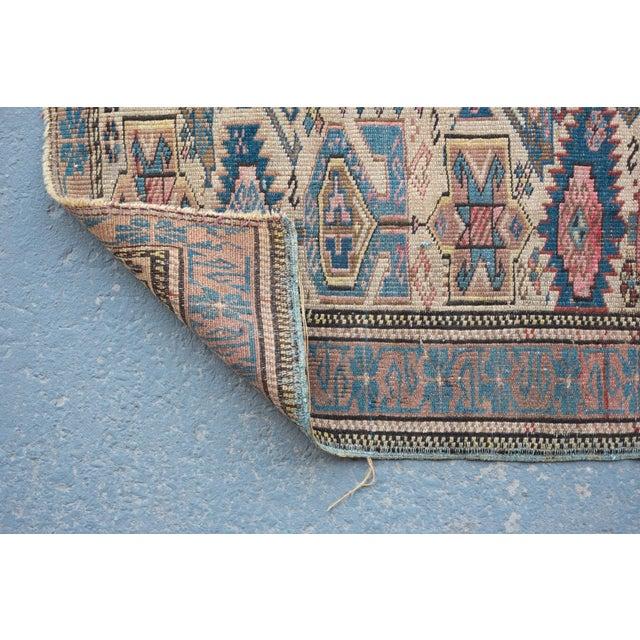 """Antique Caucasian Kuba Rug -- 2'11"""" x 3'7"""" - Image 5 of 7"""