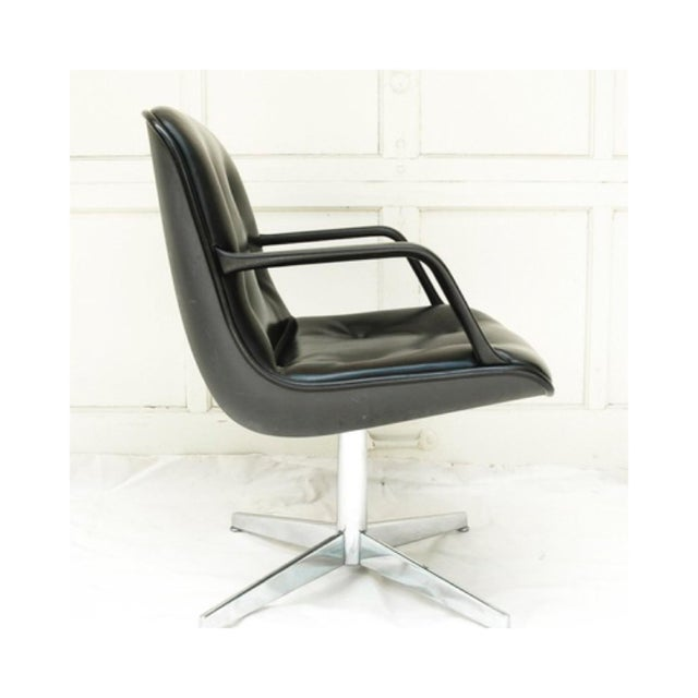 Mid-Century Modern Charles Pollock Style Executive Chair by Steelcase - Image 3 of 5