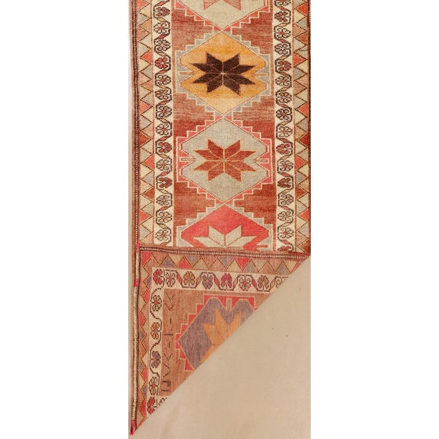 """1910s 1910's Anatolian Runner-2'10 X 10'10"""" For Sale - Image 5 of 6"""