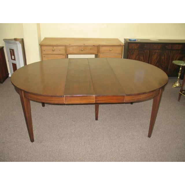 Antique Extending Mahogany Dining Table - Image 6 of 11