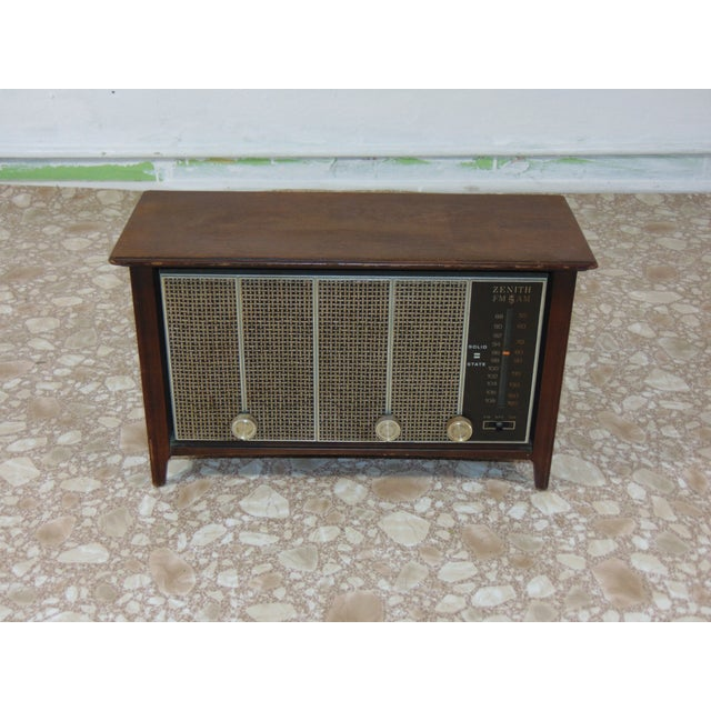 1930s Vintage Zenith Brown Radio For Sale - Image 12 of 12