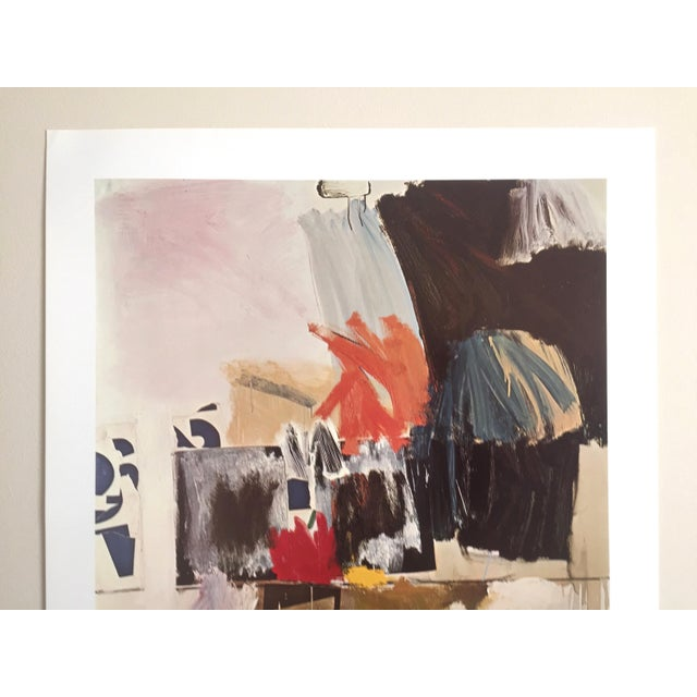 """Abstract Expressionism Robert Rauschenberg """"Summer Rental No. 2"""" 1960 Original Offset Lithograph Print For Sale - Image 3 of 8"""