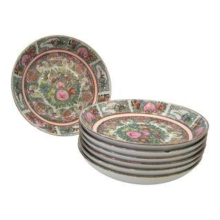 Vintage Shallow Bowls - Set of 6 For Sale