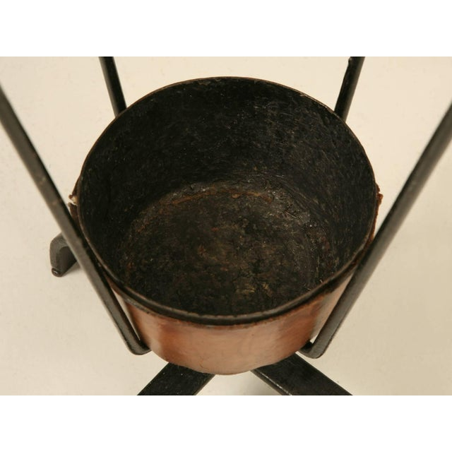 Animal Skin Jacques Adnet Umbrella Stand For Sale - Image 7 of 10
