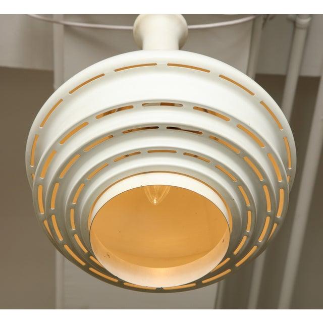 Alvar Aalto Two Alvar Aalto Model A335b Cieling Lamps For Sale - Image 4 of 6