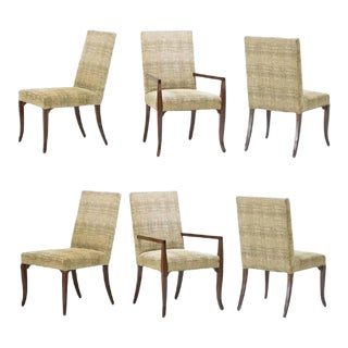 T. H. Robsjohn-Gibbings Dining Chairs - Set of 6 For Sale