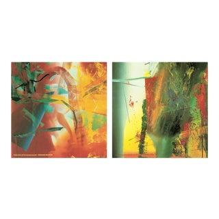 Bundle- 3 Assorted Gerhard Richter Oversized Posters For Sale