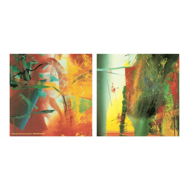 Bundle- 3 Assorted Gerhard Richter Oversized Posters For Sale